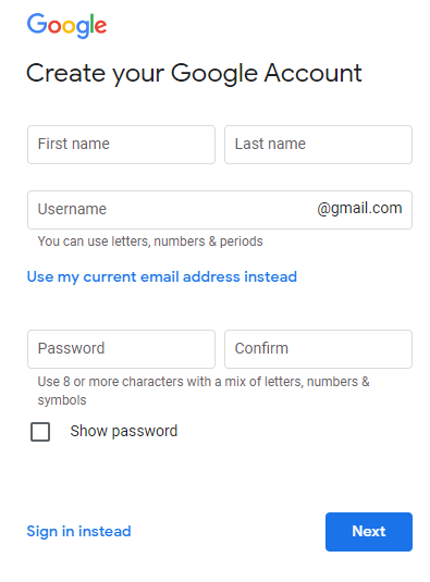 Make-New-Gmail-Account-Create-New-Accounts